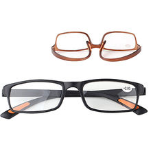 Unisex Resin Framed Daily Life Reading Glasses +1.00 1.50 2.00 2.50 3.00 3.50 4.00 Diopter(China)