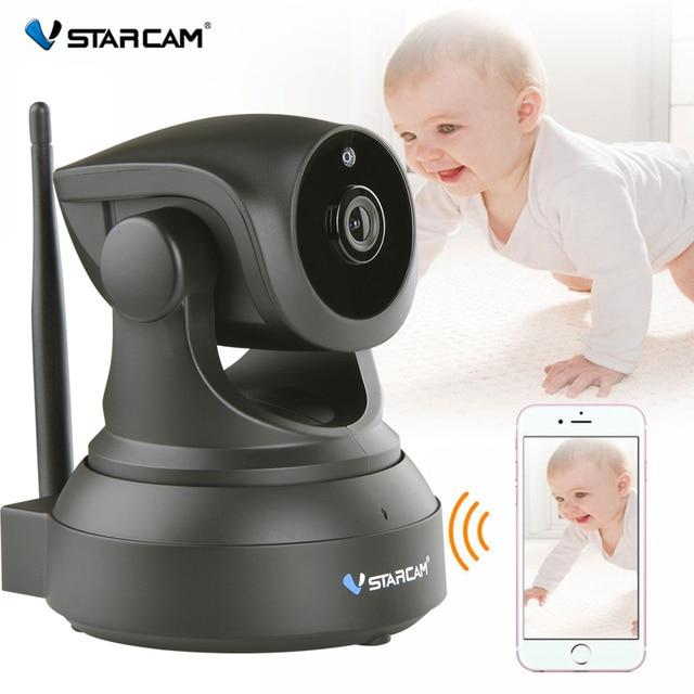 Vstarcam vidéo bébé moniteur Wifi 2 voies Audio parler caméra intelligente avec détection de mouvement interphone bébé nounou caméra alarme de garde d'enfants