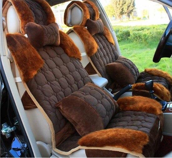 Tiger stripe universal seat covers for car plush car cushion ...
