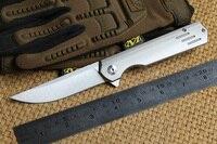 DICORIA три линии Флиппер шарикоподшипник складной нож M390 лезвие titanium Отдых Охота выживания Открытый передач Ножи EDC инструмент