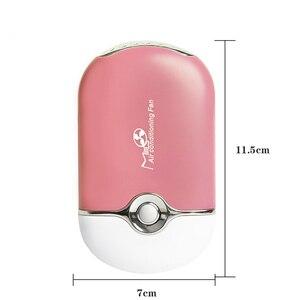 Image 4 - USB Mini Air Conditioning Fan for Eyelash Extension Blower Drying Glue Graft Eyelash Extension Drying Fan