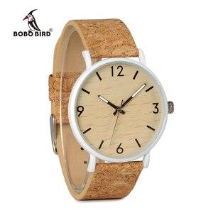 Image 3 - BOBO BIRD L E18 Stainless Steel Watches Men Quartz Watch Custom Logo Brand Designer Ladies orologio da polso OEM