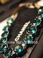 Бесплатная Доставка! новый 2013 Ретро Бирюзовый Себе Ожерелье же Стиле, что Звезда Вечернее Платье Воротник