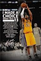 Kobe Bryant Plakaty Najwyższej Strzał Top Odgrywa Naklejki Niestandardowe Płótnie Koszykówki NBA Tapety Naklejki Ścienne Dla Dzieci Home Decor # P1396 #
