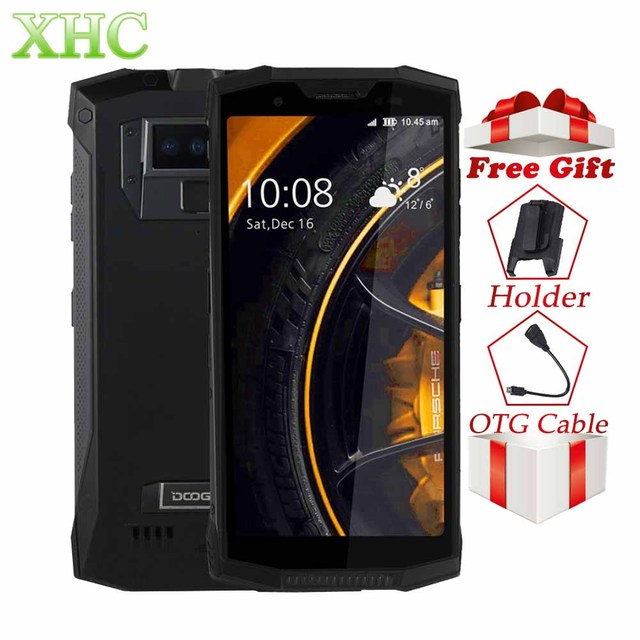 """DOOGEE S80 Lite IP68 Octa Core Per Smartphone 5.99 """"FHD + Senza Fili di Carica Fotocamere 13mp 4 GB 64 GB di Impronte Digitali NFC dual SIM Del Telefono Mobile"""