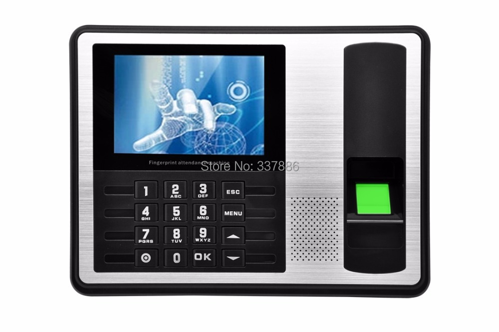 ФОТО 4.0 inches TFT Screen biometric fingerprint time attendance with TCP/IP & USB