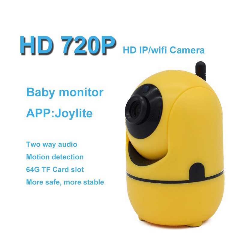 Wifi Camera Mini Wireless Security IP Camera P2P Remote View Two Way Audio Night Vision Surveillance Network Indoor Baby Monitor redgontic ip camera robot 960p hd wifi wireless two way audio p2p night vision network baby monitor security camera cam360