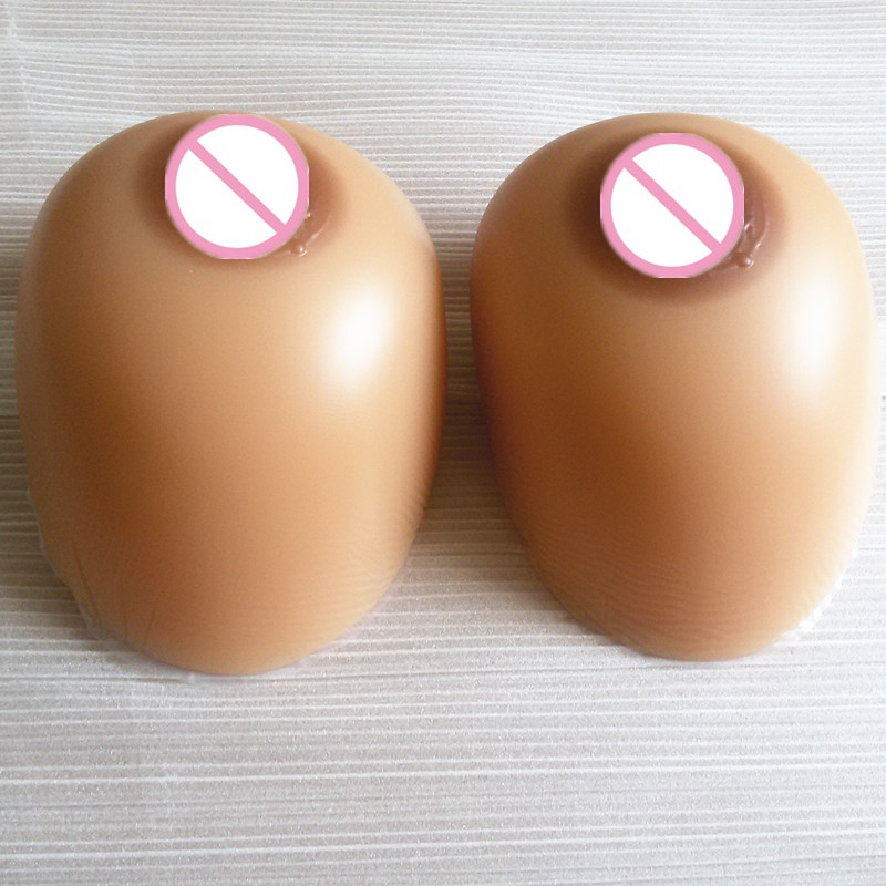 ФОТО Topleeve 600g/pair  Sz 32 34 36 Full Silicon Prosthesis Breast Artificial fake Boobs Enhancer silicone breast transvestite