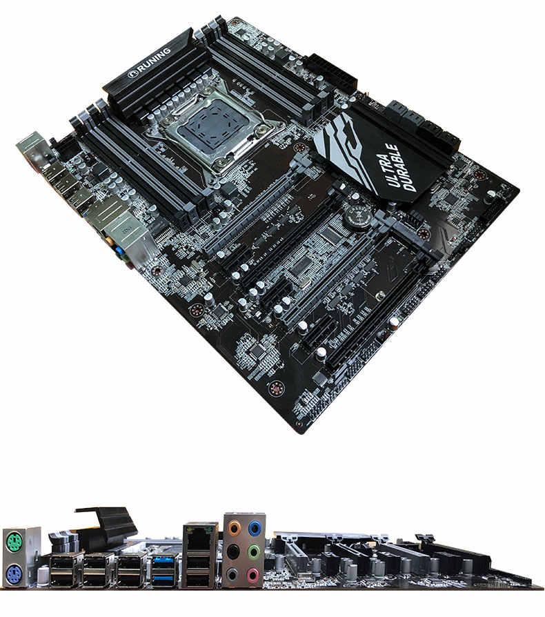 اللوحة للبيع رونينغ سوبر X79 الألعاب اللوحة حزمة 8 DDR3 DIMM وحدة المعالجة المركزية إنتل زيون E5 2690 C2 2.9 GHz RAM 128G (8*16G) RECC