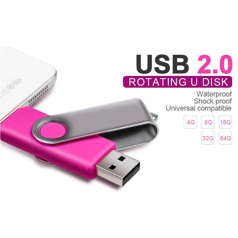 სმარტფონი USB2.0 Flash Drive OTG 4gb 8gb 16gb 32gb - შემნახველი წყაროები - ფოტო 5
