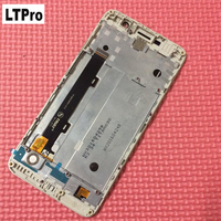 Black White Gold With Frame For Huawei Honor 4c Pro TIT L01 LCD Display Touch Screen