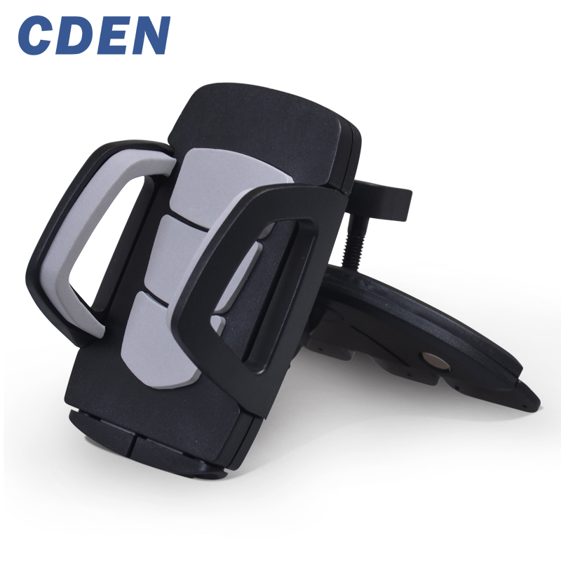 Car CD slot Phone Holder 360 Rotating Adjustable universal smartphone holder Support iPhone 6 7 8 Samsung phone stand by CDEN