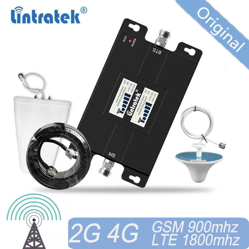 4G Cellular Signal Booster GSM Signal 900 1800 Repeater UMTS Amplifier Dual Band Repeater  WCDMA 3G Booster 2G#15
