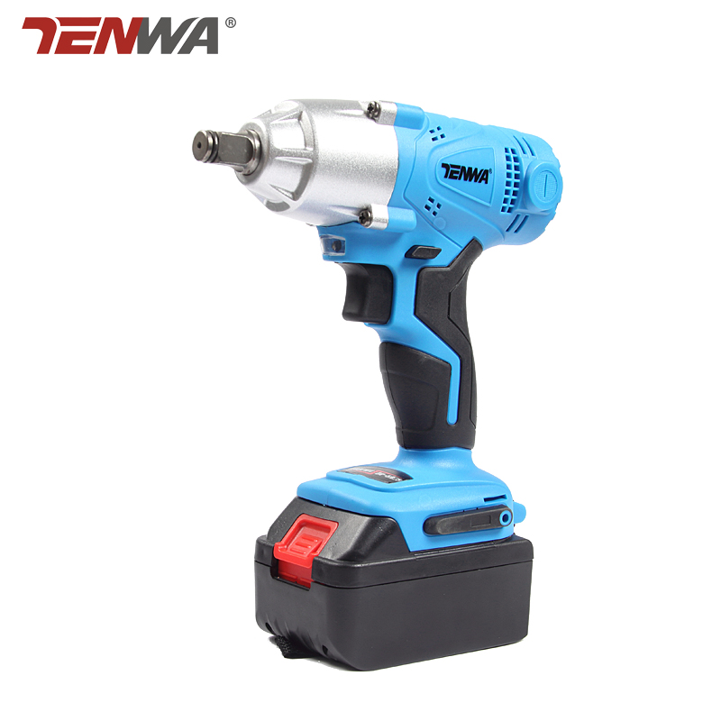 TENWA 21V Electric Impact Wrench 280 NM High Torque Cordless Power Electric Impact Wrench Drill with Battery,Quick Charger