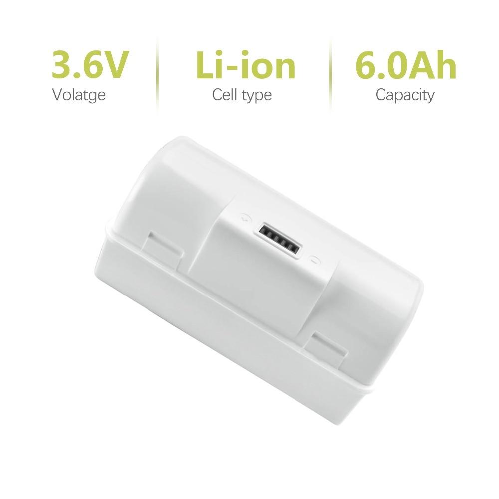 Литий-ионный аккумулятор bonacel Jet240, 3,6 В, 6 Ач, для iRobot Braava Jet 240 241