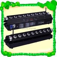 9*15W Wireless Battery LED Wall Washer RGBWA Bar Light DMX DJ Disco Party Wedding Stage Effect Lightings 230V Free Shipping