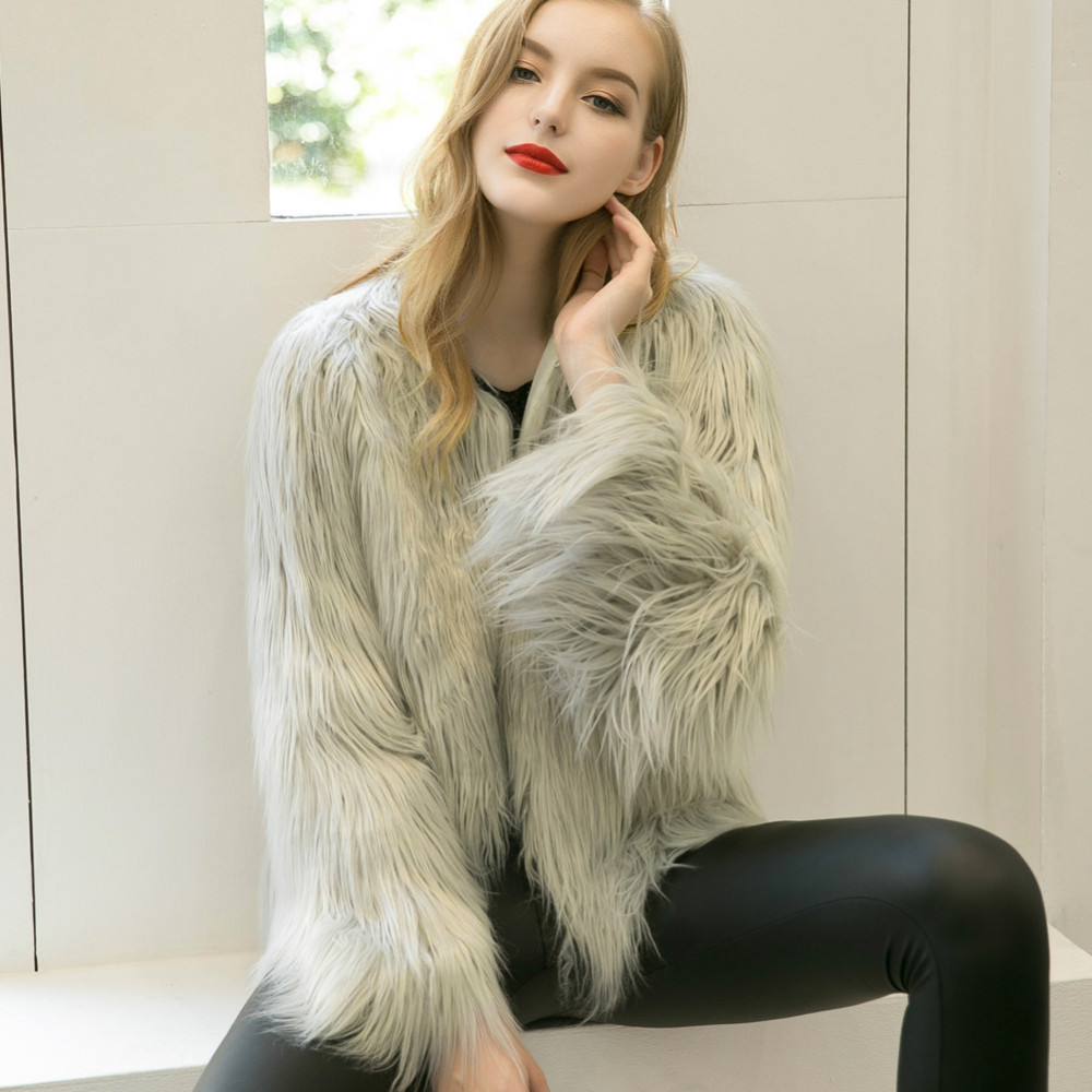 Chic Soft Faux Fur Coat 6