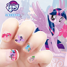 5pcs My Little Pony Stickers Toys PVC Pony Sticker Pack Girl Nail Stickers 3D Rainbow Dash Twilight Sparkle Toys for Girls M12 цена в Москве и Питере