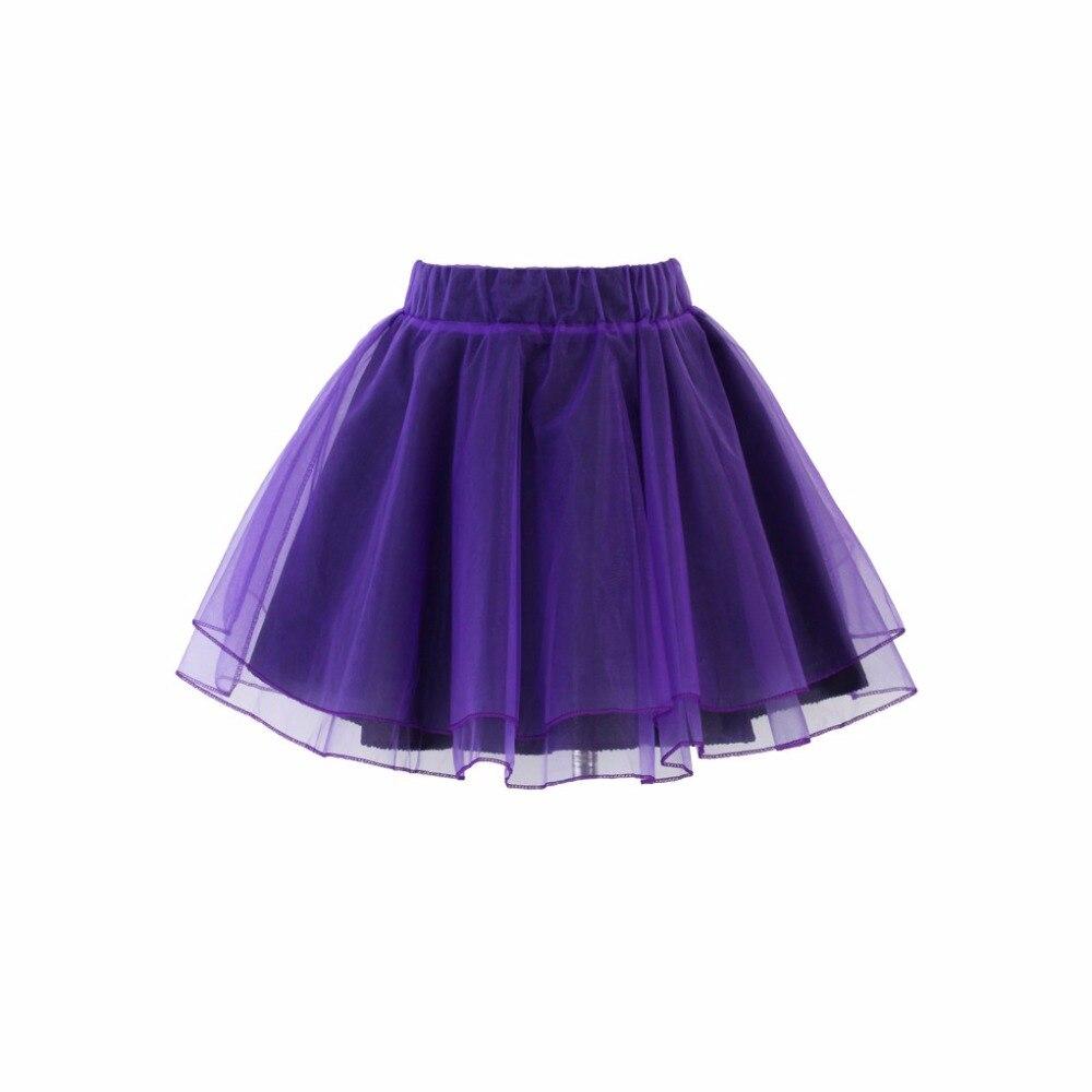 Фиолетовая мини юбках