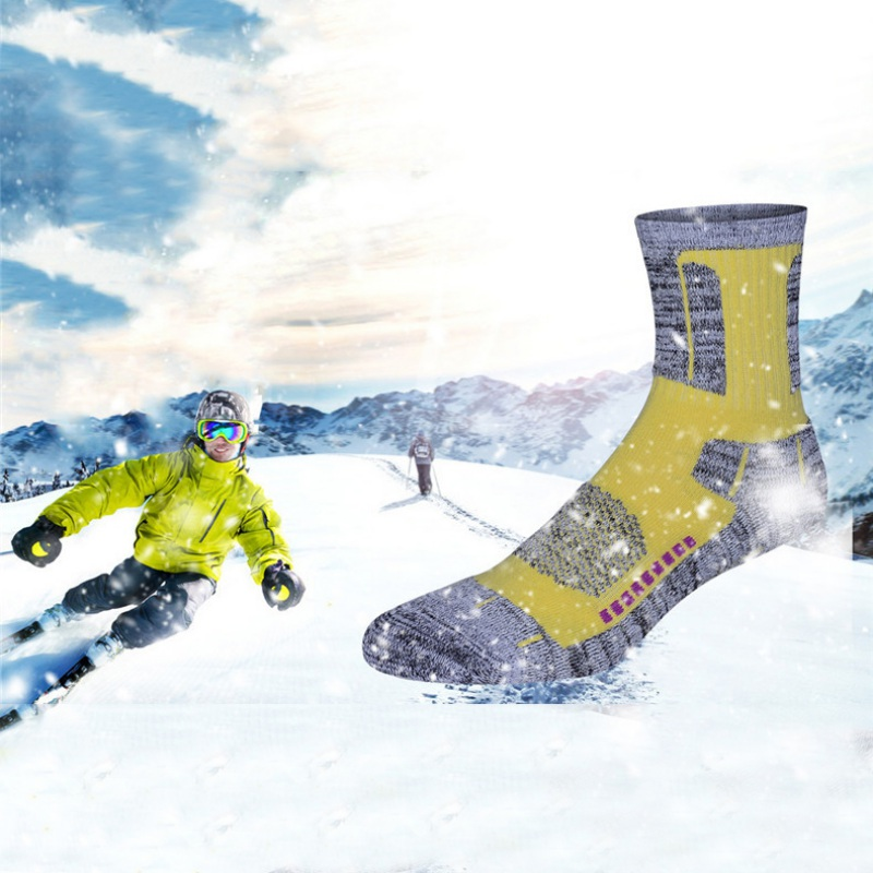 Sports Socks Anti-skid Cotton Socks For Outdoors Camping Hiking Skiing Sports Professional Cycling Socks for Men Women