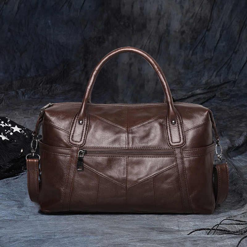 Cobbler Legend Big Bags for Women 2019 Genuine Leather Shoulder Bag Vintage Hand Purse Fashion Female Tote Famous Brand Bolsas