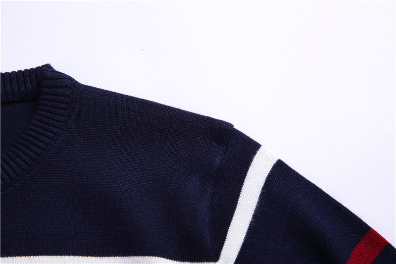 COODRONY O-Neck Pullover Men Brand Clothing 2018 Autumn Winter New Arrival Cashmere Wool Sweater Men Casual Striped Pull Men 152