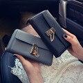 2016 Venda Quente Mulheres Carteiras Lady Coin Bolsas Carteiras Celular Bag Bolsa De Marca a Longo Carteira Dinheiro Titular do Cartão de Zipper Carteira
