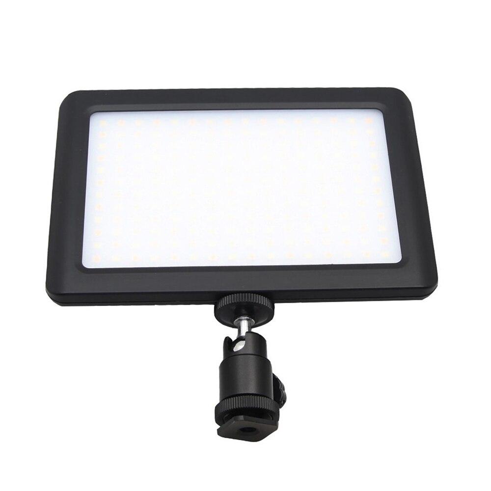TOP 12W 192 lampa studyjna wideo led lampa ciągła do aparatu fotograficznego kamera dv 3200 K/6000 K czarna