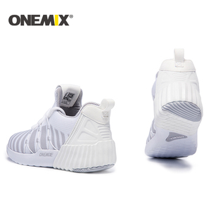 Image 2 - ONEMIX New Running Shoes women warm height increasing shoes winter sports shoes for women Outdoor Unisex Athletic Sport Shoes