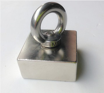 50*50*25 1pc block hole magnet 50 x 50 x 25 mm powerful craft neodymium magnets rare earth permanent strong N35 N35 цена