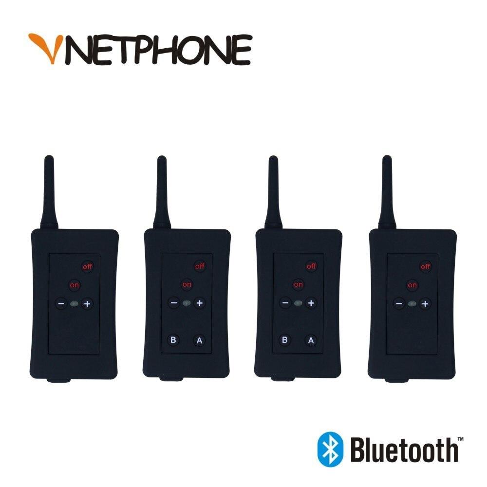2017 dernier casque d'interphone d'arbitre de Football Vnetphone FBIM 1200 M Interphone Bluetooth Duplex sans fil avec FM 800 mah