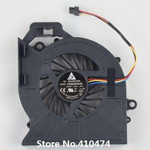 SSEA original nuevo ventilador de CPU para HP pabellón DV6 DV6-6000 DV7 DV7-6000 ventilador de refrigeración/P/N KSB0505HB