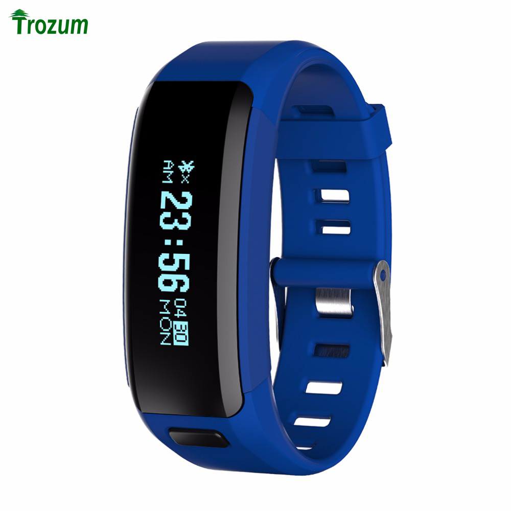 TROZUM NO 1 Smartband F1 Smart Bracelet OLED 0 91 Inch Heart Rate Monitor Smart Wristband