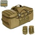 D5 column Men's bag backpack bags 50 l water-proof military  laptop bags wear-resisting package high grade backpack