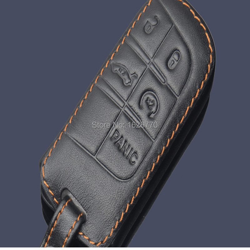 Genuine-Leather-Car-Key-Case-for-Jeep-2015-Grand-Cherokee-Dodge-Journey-Chrysler-300C-key-chain (1).jpg