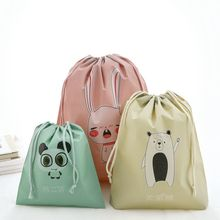 1PC Clothing Shoes Storage Bags Underwear Sorting Newest Waterproof Cartoon Printed Travel Pouch Portable Bag