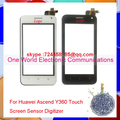 "Black White 4.0"" Smartphone For Huawei Ascend Y360 Y3 Touch Screen Touch Panel Digitizer Sensor Front Glass Lens Tracking Code"