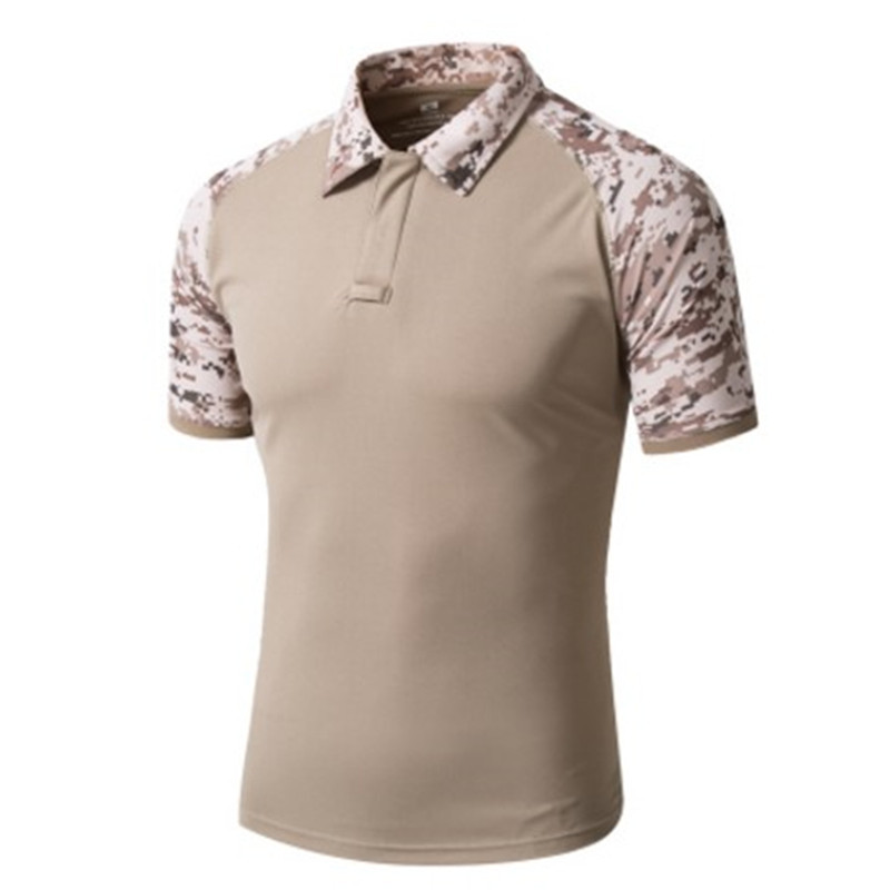 Mege 15 camouflage colors men 39 s brand polo shirt tactical for Expensive polo shirt brands