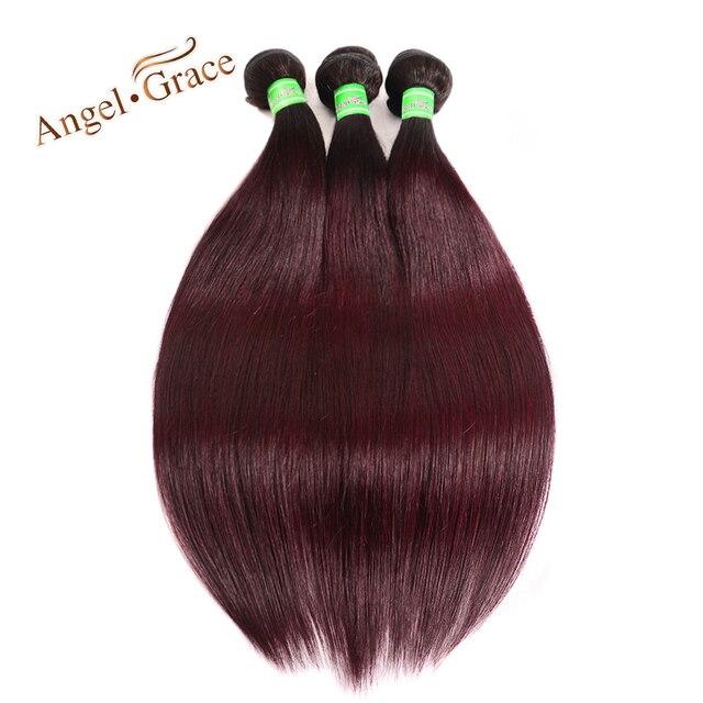 f2e6139ac9a Angel grace burgundy brazilian hair weave bundles ombre human hair bundles  lot two tone jpg 640x640