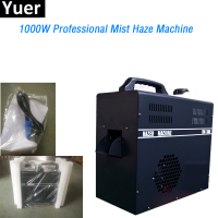 Yuer 1000W Professional Mist Haze Machine Use Haze Oil Special Smoke Hazer Fog Machines DMX512 For DJ Disco Stage Equipment