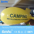 AO124 Free shipping  4m Advertising inflatable helium blimp  airship  balloon /Inflatable helium airship balloon