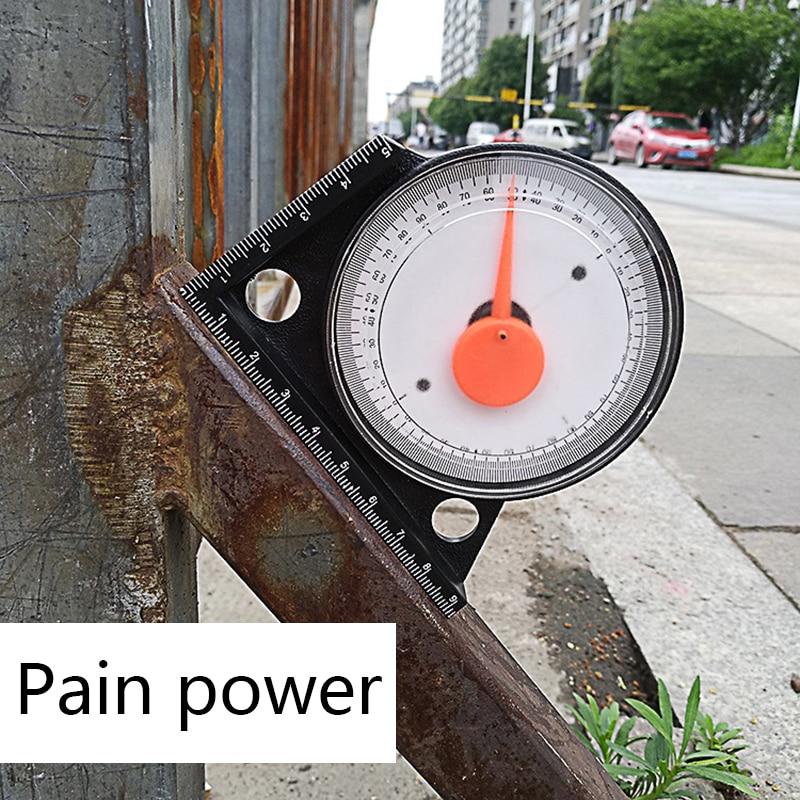 Inclinometer Magnetic Protractor Tilt Level Meter Angle Finder Clinometer Slopes