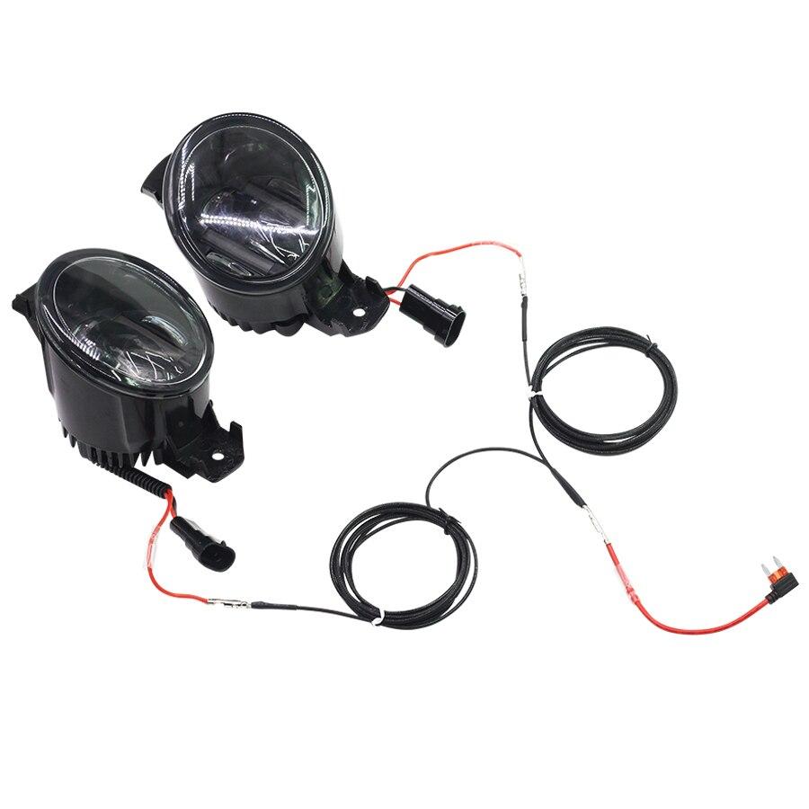 2PCS LED Stoßstange Hinten Reflektor Nebel Lampe Für Toyota Vios 2017 2018 Stoßstange Licht Bremslicht Blinker Licht warnung Licht - 2