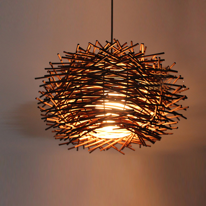Tuda 34x60cm free shipping rattan wicker chandeliers garden cafe tuda 34x60cm free shipping rattan wicker chandeliers garden cafe bedroom rattan chandelier hand woven rattan pendant e27 in chandeliers from lights aloadofball Images