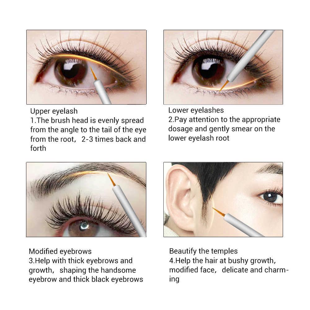 b54077b953e ... BREYLEE Eyelash Growth Serum Eyelash Enhancer Eye Lash Treatment Liquid Longer  Fuller Thicker Eyelash Extension Makeup ...