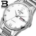 Switzerland men's watch luxury brand Wristwatches BINGER 18K gold Automatic self-wind full stainless steel waterproof  B1128-10