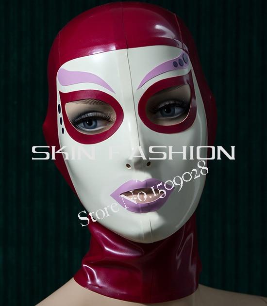 Free shipping Fashion new style hoods latex mask