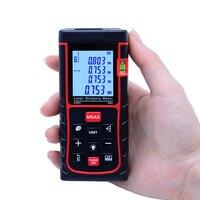 Digital Laser Distance Meter 50m SW E50 Laser Rangefinders Tape Area Volume M In Ft Measure