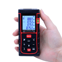 SNDWAY Telémetros Láser Digital medidor de distancia Láser 50 m SW-E50 Cinta Área/Volumen M/in/Ft Medida Diastimeter