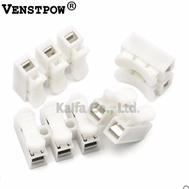 30pcs lot 2 3 Pins Electrical Cable Connectors CH2 CH3 Quick Splice Lock Wire Terminals Set 20×17.5×13.5mm